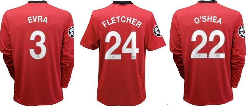 Fletcher, O'Shea, Evra