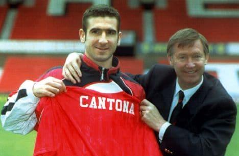 Eric Cantona signs, 1992