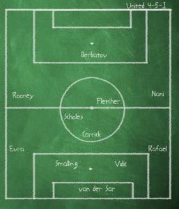 Chalkboard versus Marseille