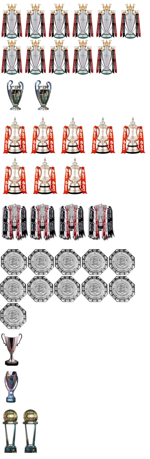 Manchester United Trophies