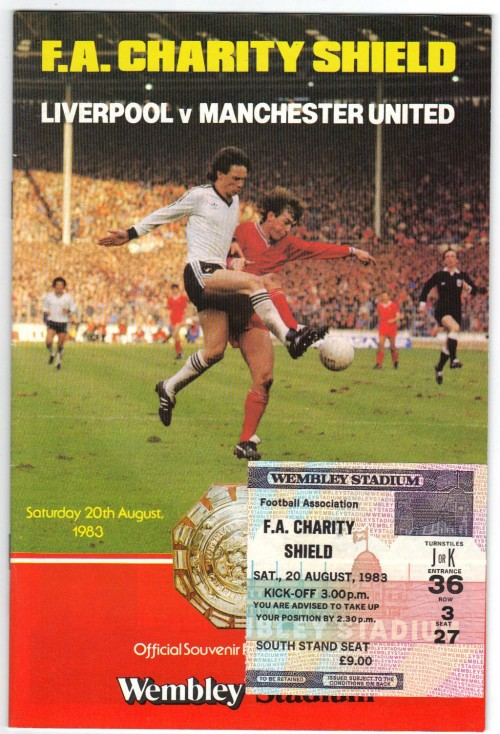 Liverpool v United 1983