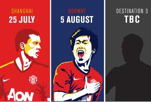 MUFC Tour 2012