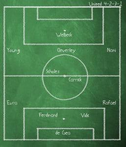 Manchester United v Wigan Athletic - Premier League - Old Trafford - 15 September 2012