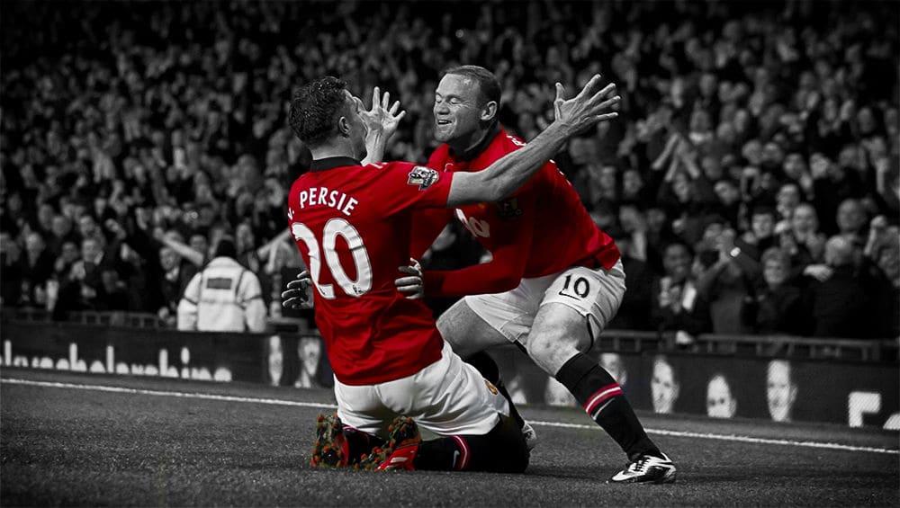 Robin van Persie, Wayne Rooney
