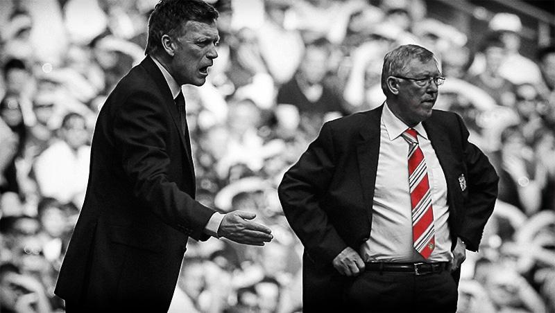David Moyes, Sir Alex Ferguson