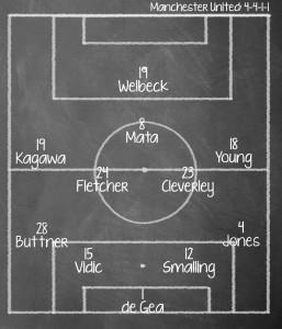 Newcastle United v Manchester United, Premier League, St James Park, 3pm 5 April 2014