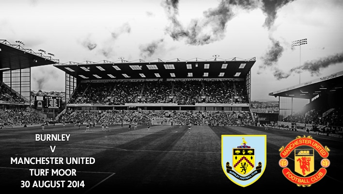 Burnley v Manchester United, Turf Moor, 30 August 2014