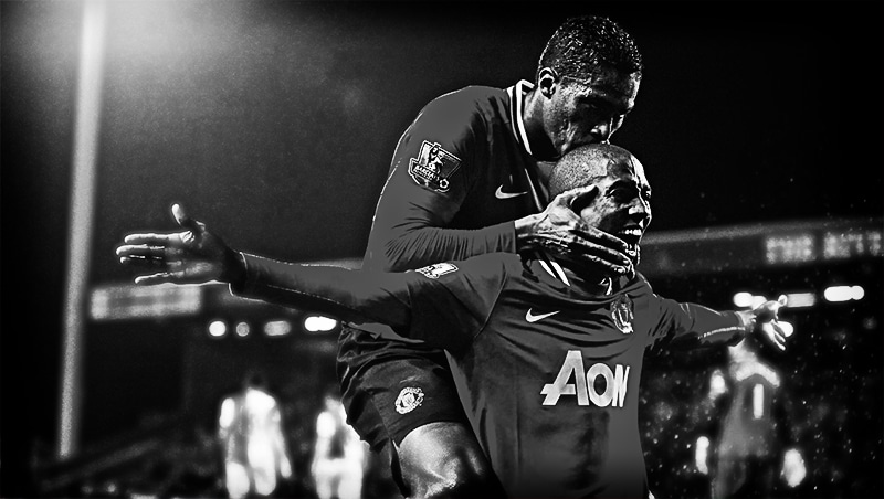 Ashley Young Antonio Valencia