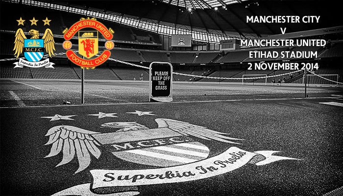 Manchester City v Manchester United, Etihad, 2 November 2014