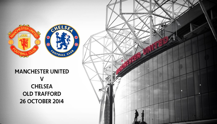 Manchester United v Chelsea, Old Trafford, Premier League 26 October 2014