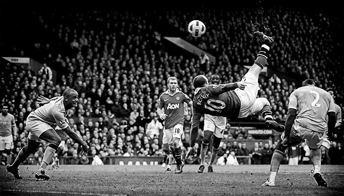 Wayne Rooney v Manchester City