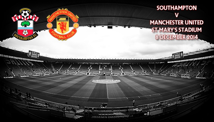 Southampton v Manchester United, St Mary's, 8 December 2014
