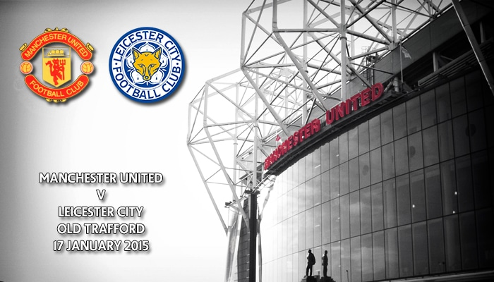 Manchester United v Leicester City, Old Trafford, Premier League, 30 January 2015