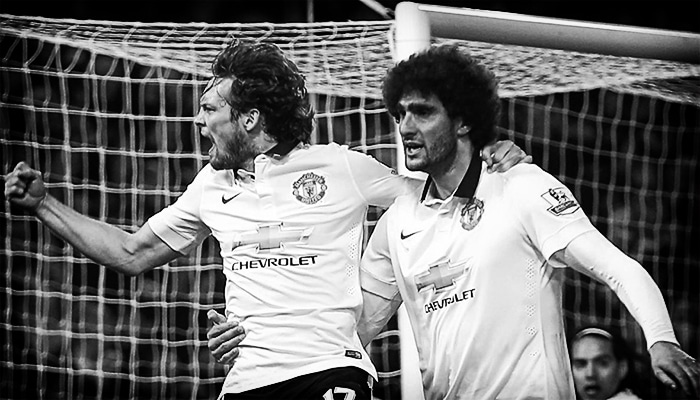 Daley Blind, Marouane Fellaini