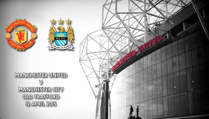Manchester United v Manchester City, Premier League, Old Trafford, 12 April 2015