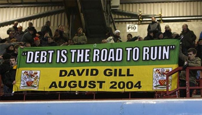 David Gill debt