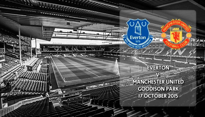Everton v Manchester United, Premier League, Goodison Park, 17 October 2015