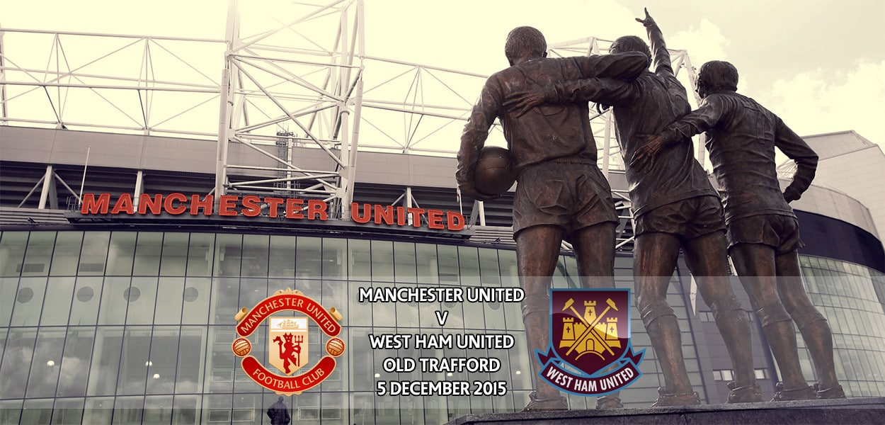 Manchester United v West Ham United, Premier League, Old Trafford, 5 December 2015