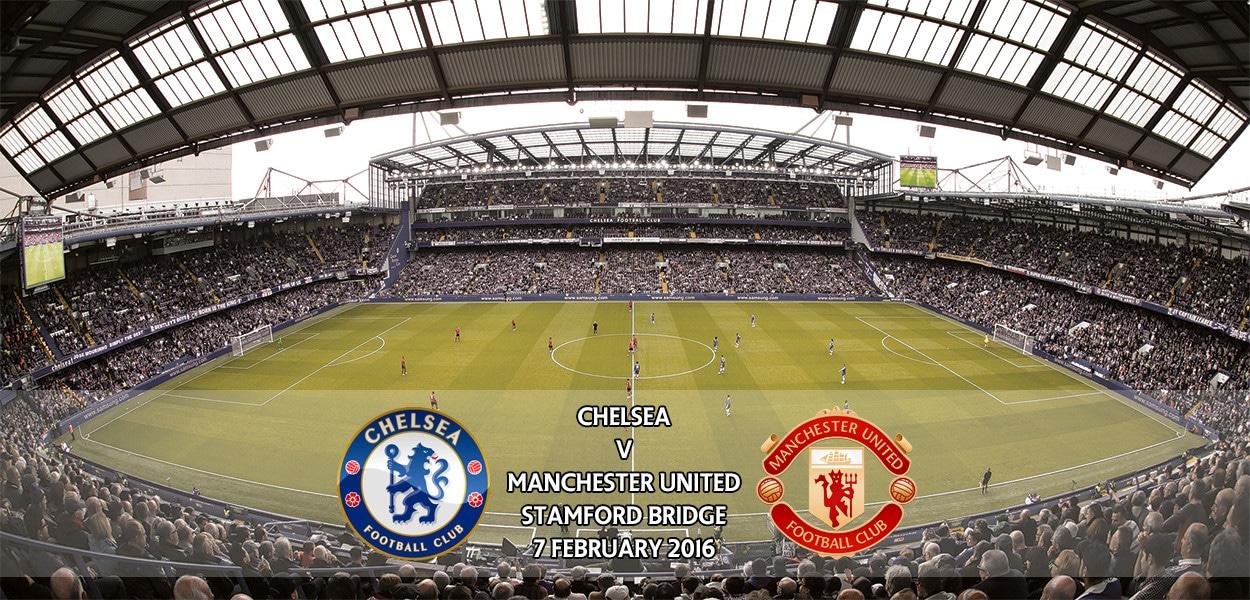 Chelsea v Manchester United, Premier League, Stamford Bridge, 7 February 2016