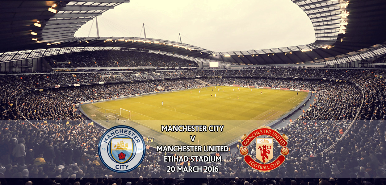 Manchester City v Manchester United, Premier League, Etihad Stadium, 20 March 2016