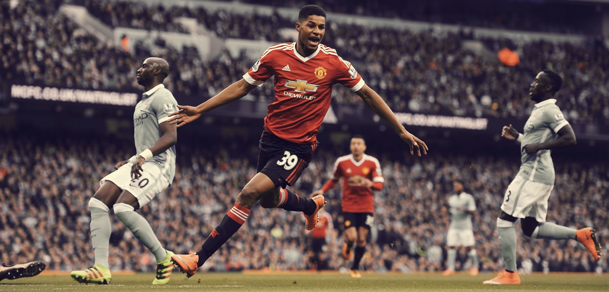 Marcus Rashford, vs City