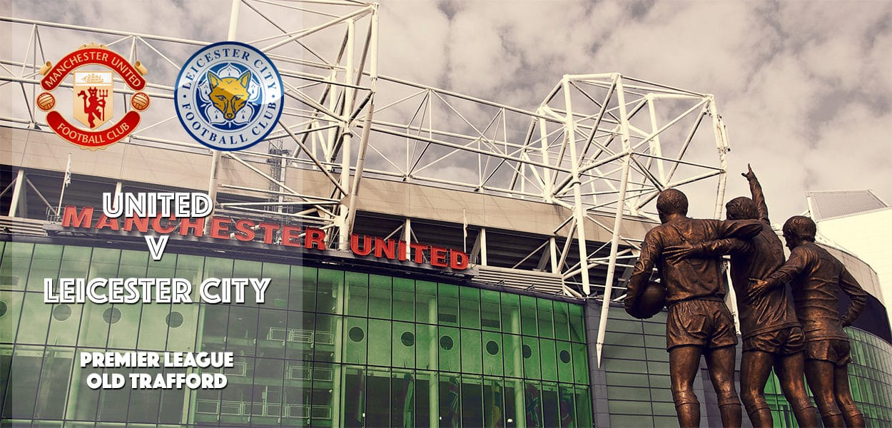 Manchester United v Leicester City, Old Trafford, Premier League, 24 September