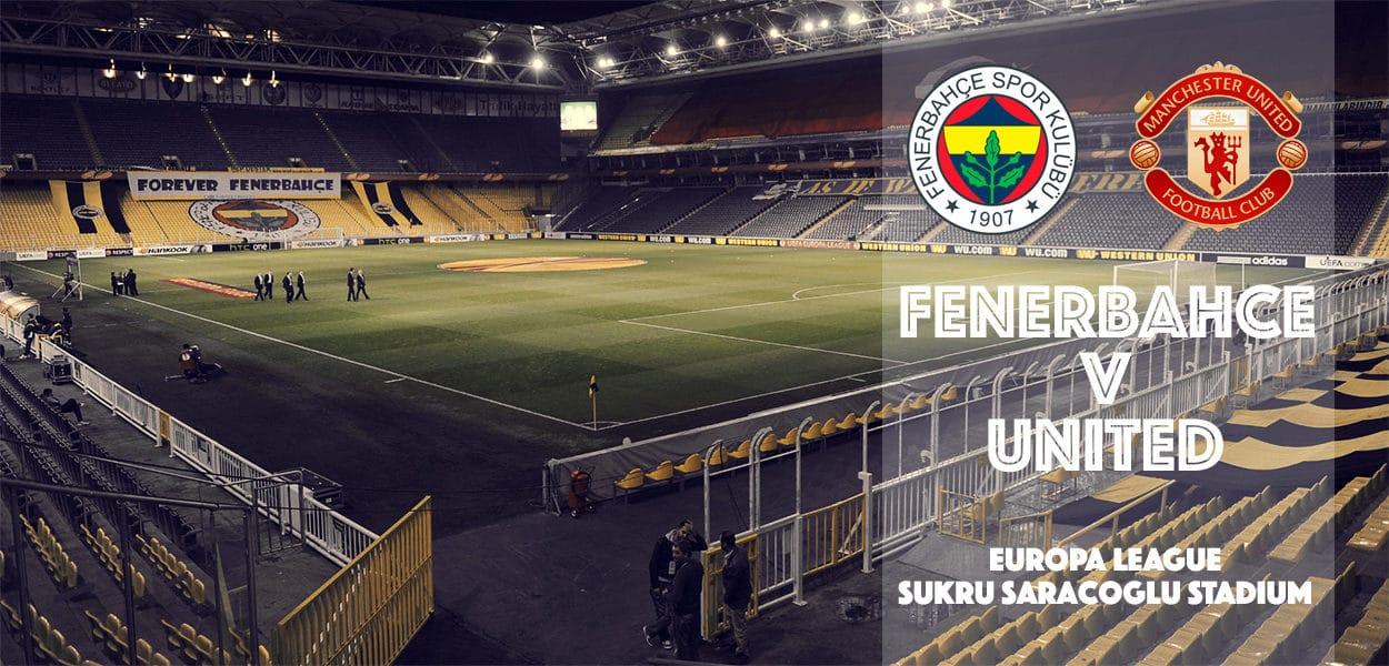 Fenerbahce v Manchester United, Europa League, Sukru Saracoglu Stadium, 3 November 2016