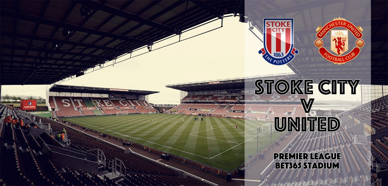Stoke City v Manchester United, Bet365 Stadium, Premier League, 21 January 2017