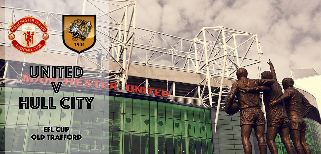 Manchester United v Hull City, EFL Cup, Old Trafford, 10 January 2017