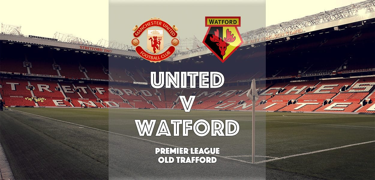 Manchester United v Watford, Premier League, Old Trafford, 12 February 2017