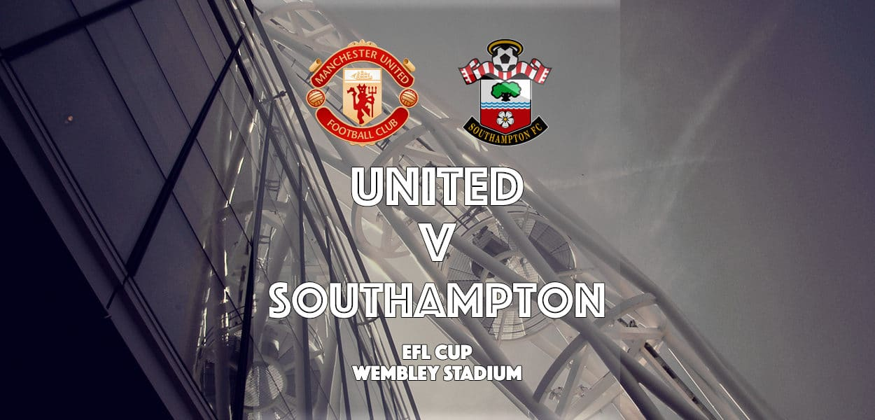 Manchester United v Southampton, EFL Cup Final, Wembley Stadium, 26 February 2017