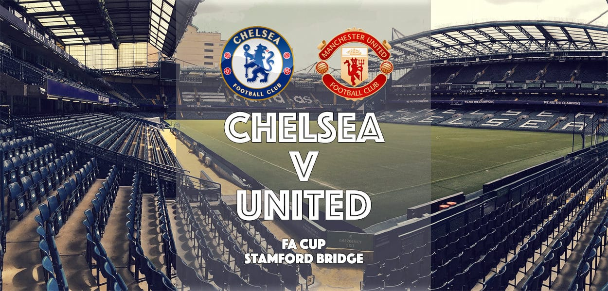 Chelsea v Manchester United, FA Cup Sixth Round, Stamford Bridge, 13 March 2017