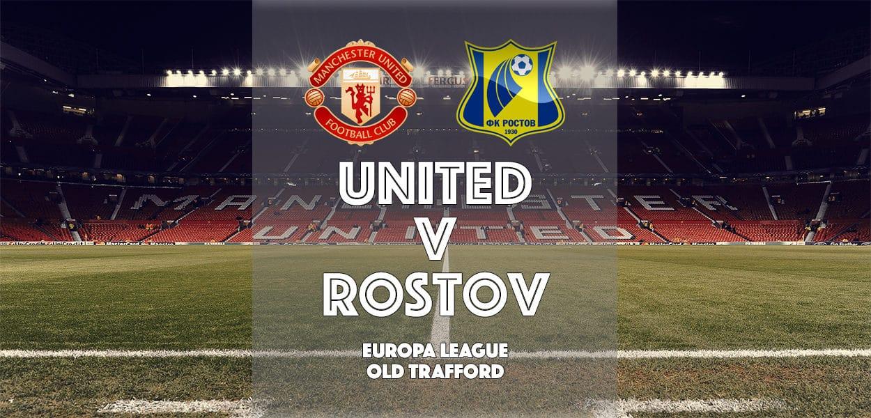 Manchester United v FC Rostov, Europa League, Old Trafford 16 March 2017