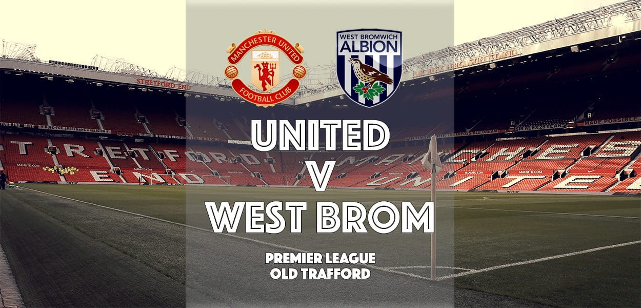 Manchester United v West Bromwich Albion, Premier League, Old Trafford, 1 April 2017