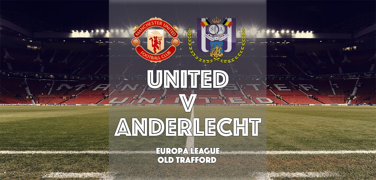 Manchester United v Anderlecht, Europa League, Old Trafford, 20 April 2017
