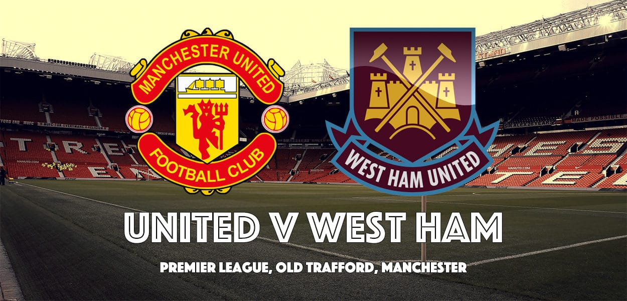 Manchester United v West Ham United, Premier League, Old Trafford, 13 August 2017