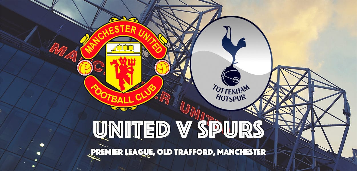 Manchester United v Tottenham Hotspur, Premier League, Old Trafford, 28 October 2017
