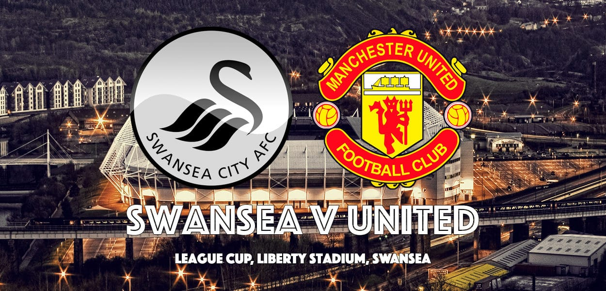 Swansea City v Manchester United, League Cup, Liberty Stadium, 24 October 2017